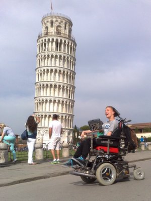 sam in pisa th